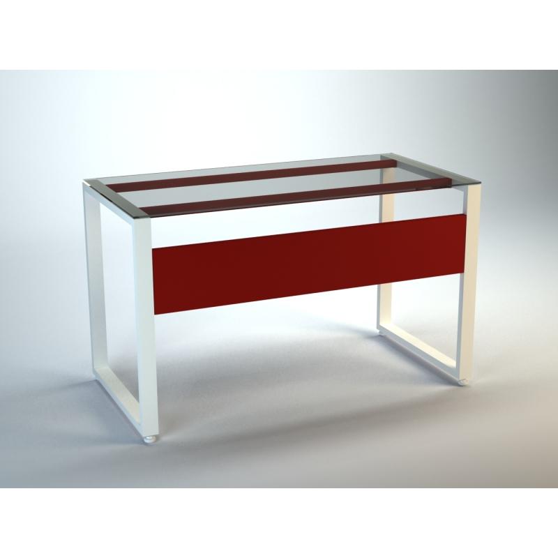 Escritorio de cristal templado etem12b muebles express for Muebles oficina cristal