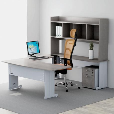 Oficina completa ofxlsc 5 muebles express for Modulos de oficina