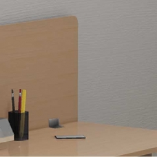 Panel divisorio individual de 120 x 40 cm
