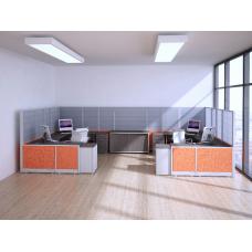 Estaciones de trabajo modulares mixtos