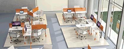 muebles ligeros y muebles funcionales - muebles para oficina